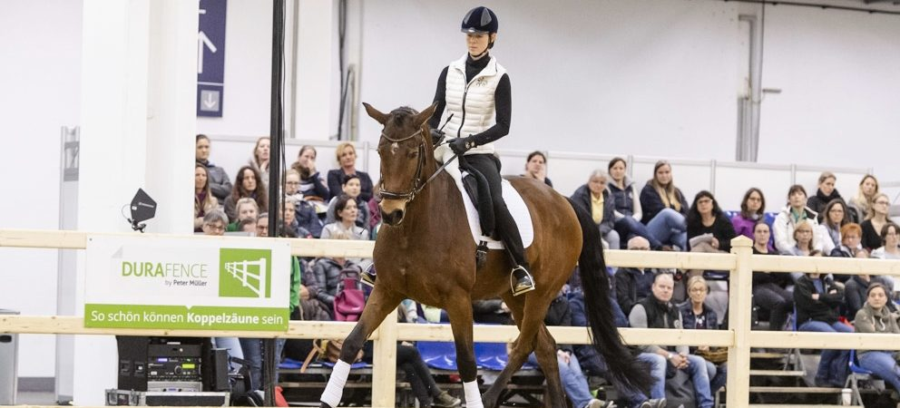 Fully booked: Anja Beran at EQUITANA EDUCATION 2019