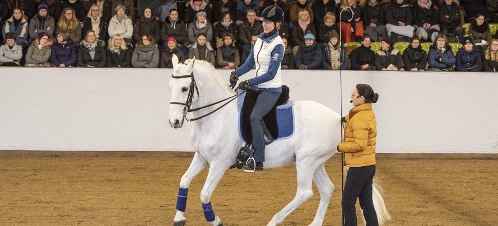 Seminar in Marbach: Wie Seitengänge unseren Pferden helfen