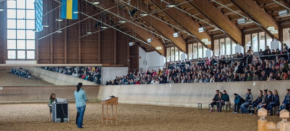 """Training the eye - Recognising training which is appropriate to the requirements of the horse"": Anja Beran at the State Stud of Schwaiganger"