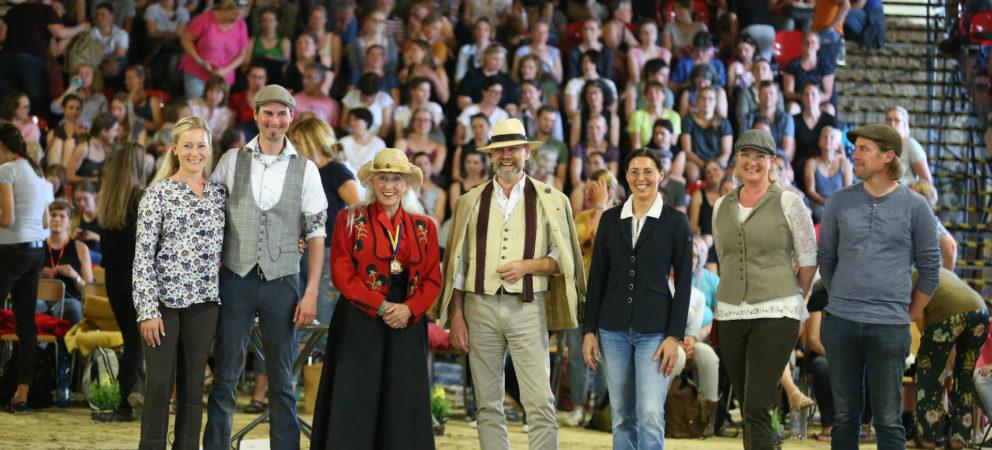 Anja Beran zu Gast bei Fairness für Pferde 2019